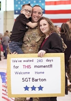 Post Deployment Disney World Trip - 4-Day Park Hopper Pass