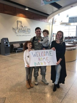 Post Deployment Disney World Trip